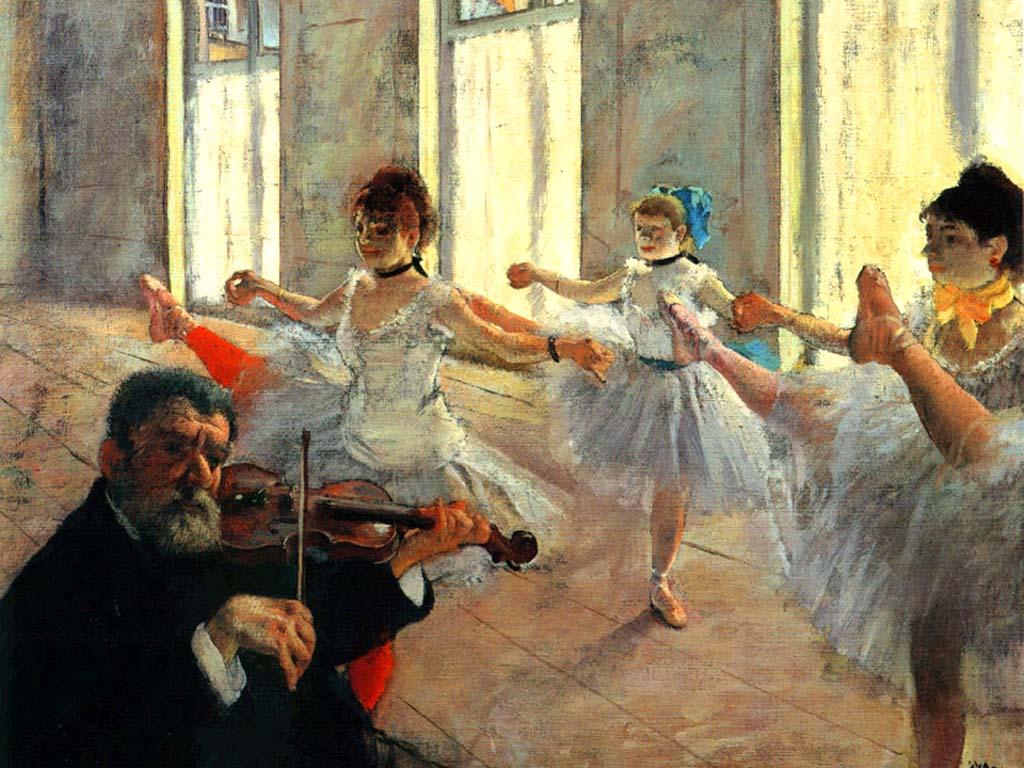 Degas Bailarinas 2